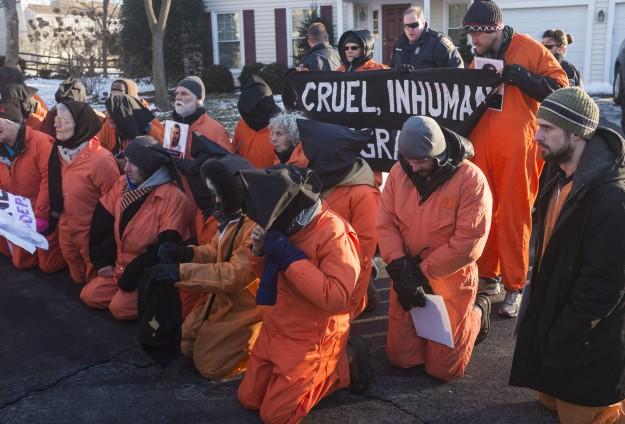 Washingtonda Guantanamo protesto edildi