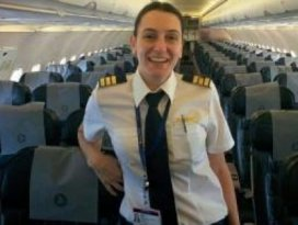 Muhabirdi THYde pilot oldu