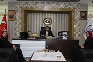 Anaokulu yönetiminden Başkan Kale'ye ziyaret