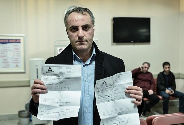 Yeni Akit Gazetesi muhabirlerine darp iddiası