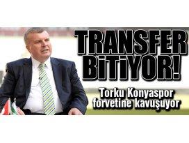 Torku Konyaspor forvetine kavuşuyor!