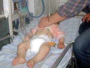 Karısına kızdı, bebeğini yoğun bakıma soktu