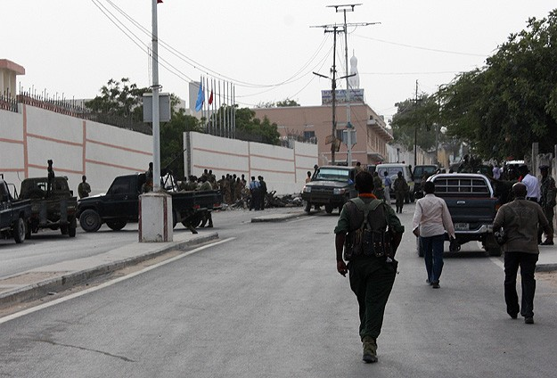Mogadişuda bombalı saldırı: 4 ölü