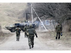 Donetskteki çatışmalarda 10 asker öldü