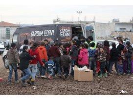 İstanbulun sıcak eli 15 bin sığınmacıya ulaşıyor