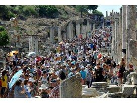 Türkiyeyi 36,8 milyon yabancı ziyaret etti