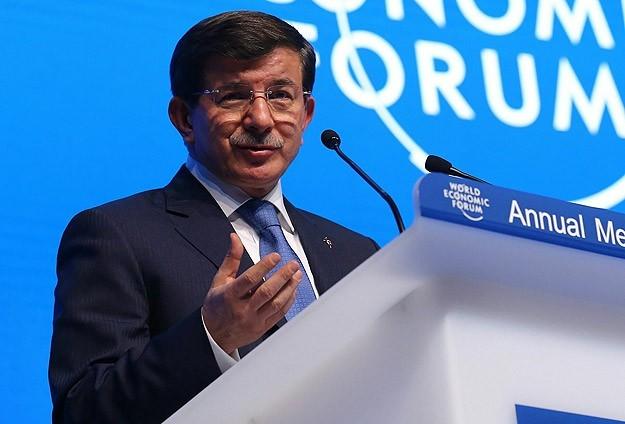 Davosta Davutoğlu rüzgarı esti