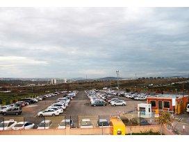 İSPARKtan havaalanlarında 8 liraya park hizmeti