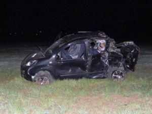 Konyada trafik kazası; 1 ölü 2 yaralı