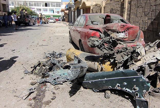 Libyada bombalı saldırı