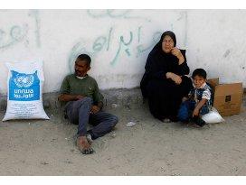 UNRWA Gazzeye yardımı durdurdu