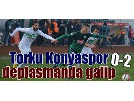 Torku Konyaspor, Giresunsporu devirdi; 0-2