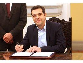 Yunanistanda hükümet kuruldu