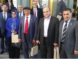 Konyalı muhtarlar Cumhurbaşkanlığı Sarayı'nda