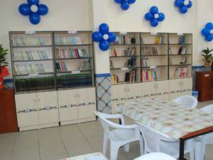 Karataydan 10 okula kütüphane