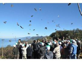 2014te doğaya 91 bin kuş salındı