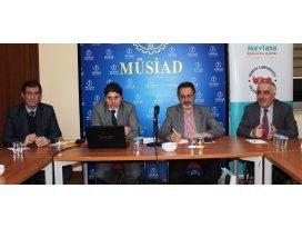MEVKA 2015 mali destek programını iş dünyasına tanıttı