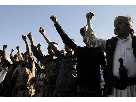 Yemende Suudi Arabistan protestosu