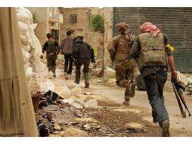 Rejim güçlerine katyuşa füzeleriyle saldırdılar