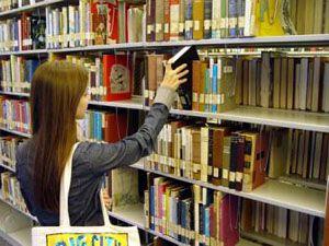 Kütüphanesiz ilçede kütüphane haftası