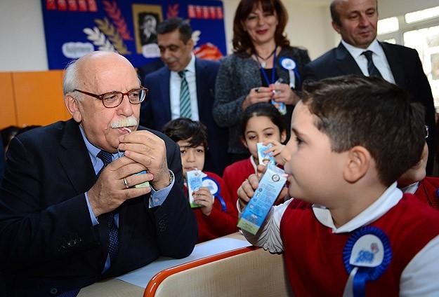 İkinci yarıyıl okul sütü ile başladı