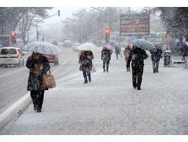 Yurt genelinde kar yağışı uyarısı