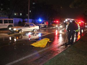 Aracın çarptığı bisikletli genç hayatını kaybetti