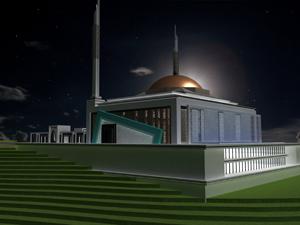 Konya'ya 15 bin kişilik cami
