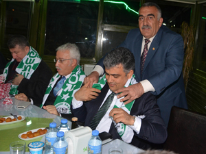 Ereğlispor'a destek yemeği