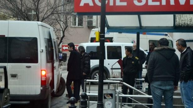 Gözaltındaki polisler sağlık kontrolünde