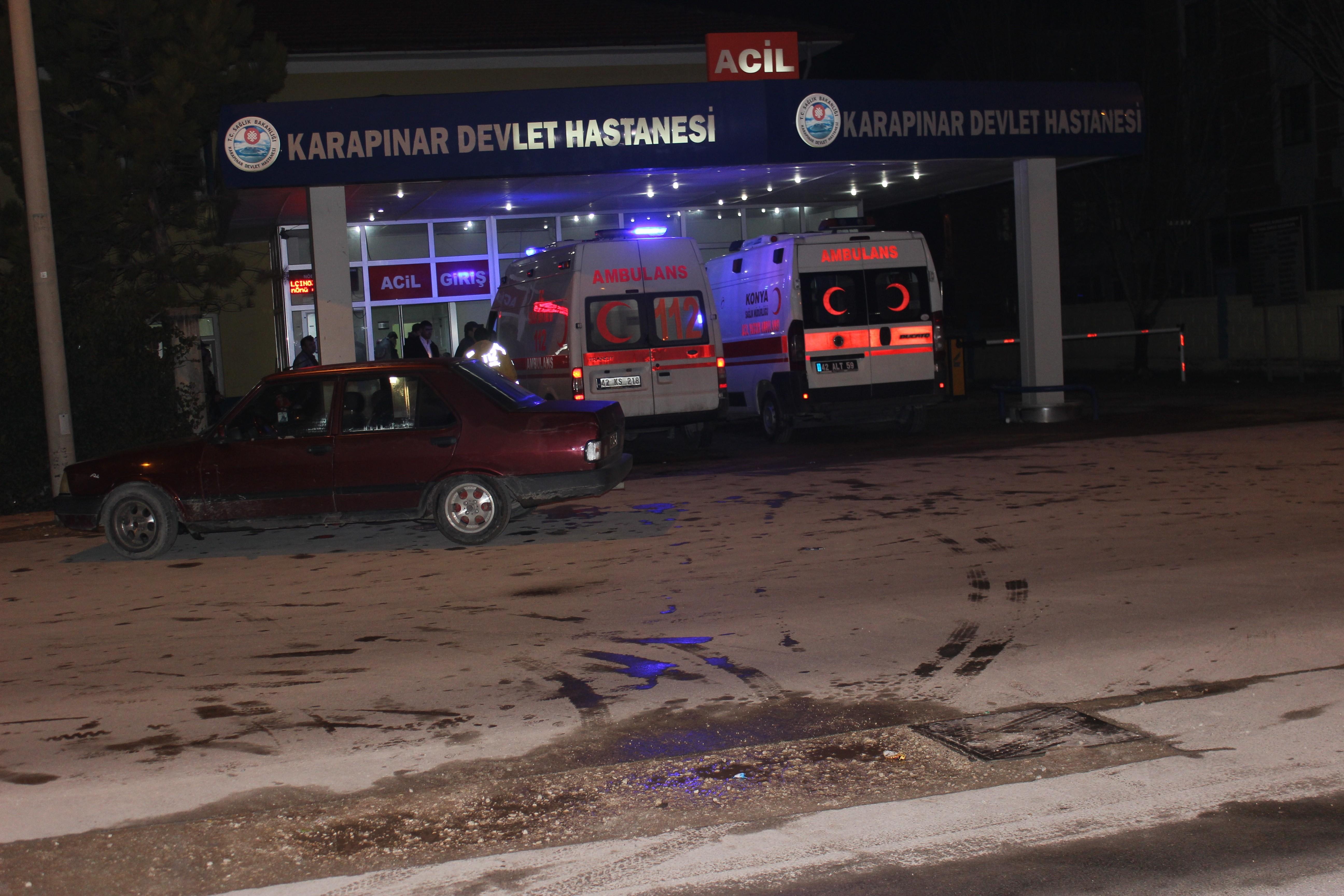 Konyada trafik kazası: 3 kişi...