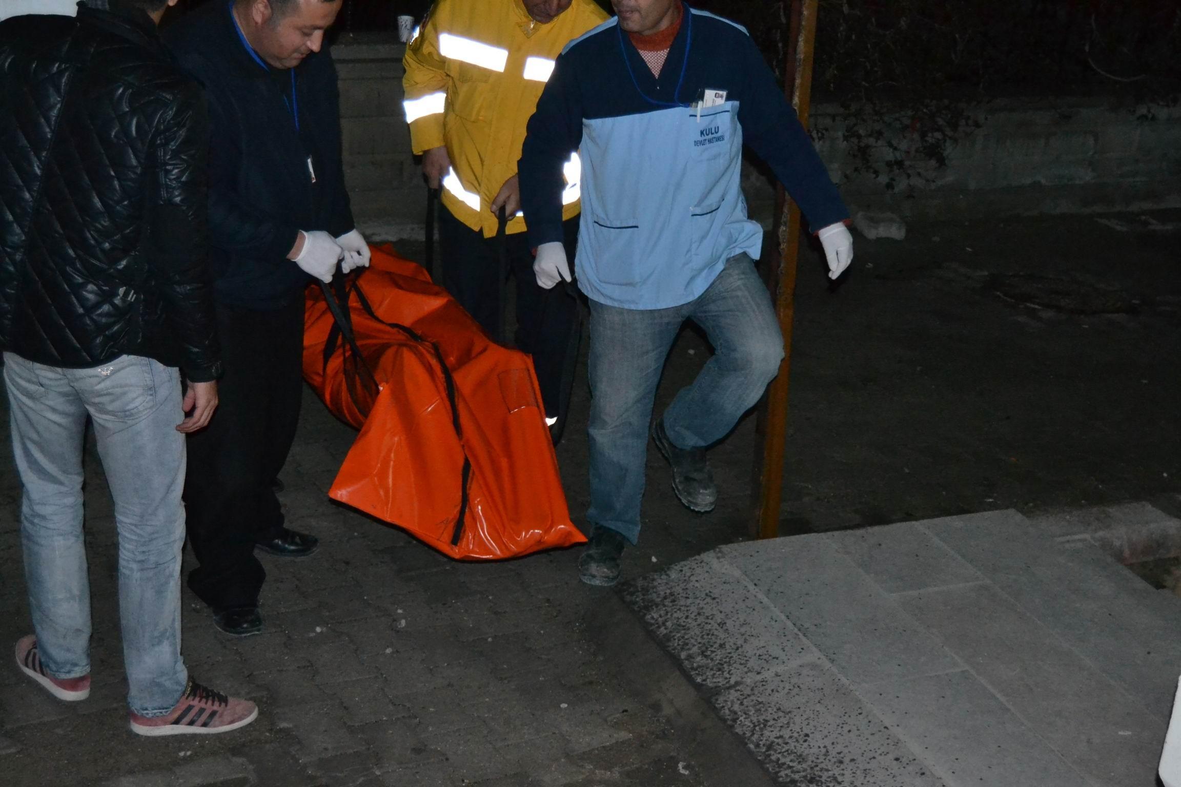 Konyada trafik kazası: 1 ölü 2 yaralı
