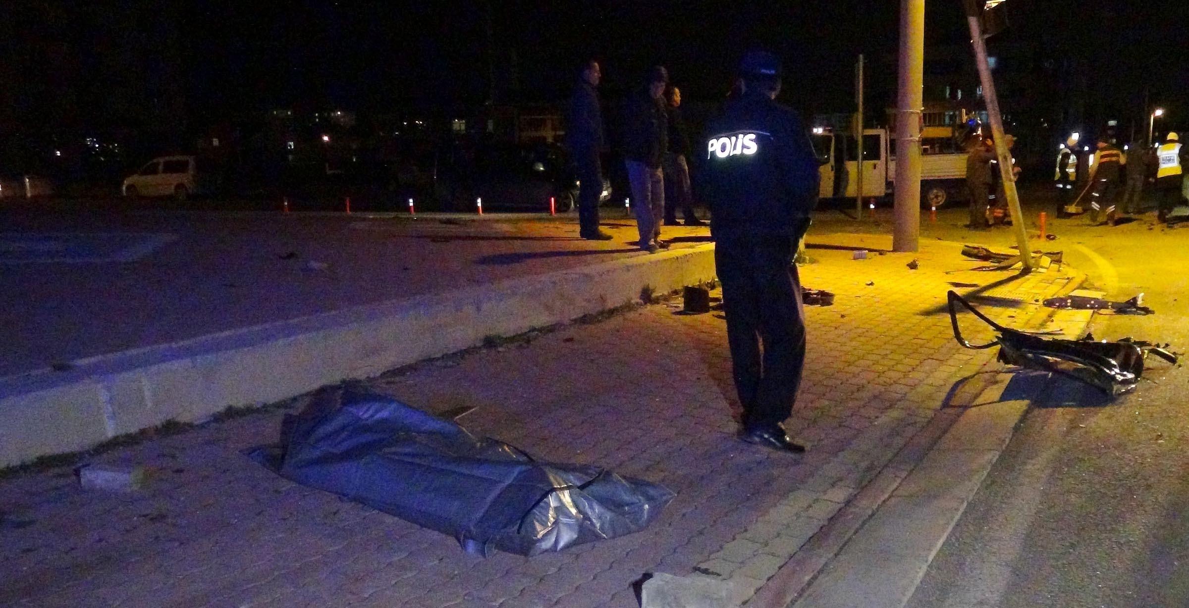 Konyada trafik kazası: 1 ölü, 3 yaralı