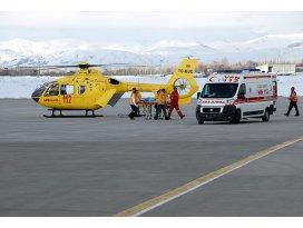 Ambulans helikopter 740 hayat kurtardı