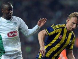 Torku Konyaspor Feneri elinden kaçırdı; 1-1
