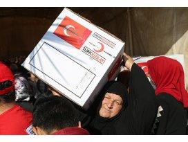 Türk Kızılayı Iraktaki sığınmacıları yalnız bırakmıyor