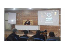 Muşta Merhamet konulu seminer verildi