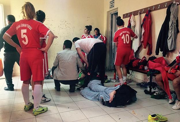TFF Kadınlar 1. Ligi maçında kavga: 9 yaralı