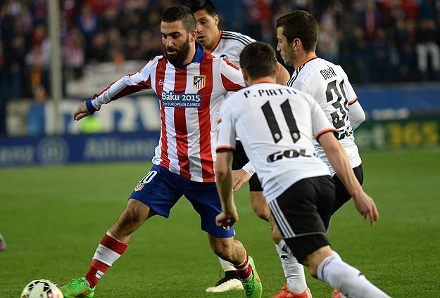 Atletico Madrid yara aldı