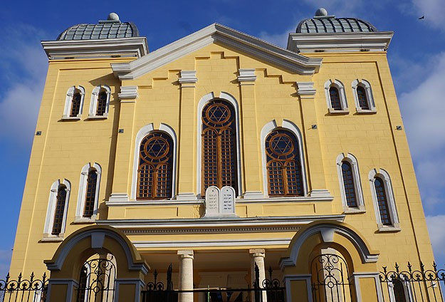 Büyük Sinagog açılışa hazır