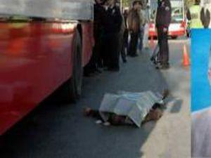 Otobüsün altında can verdi