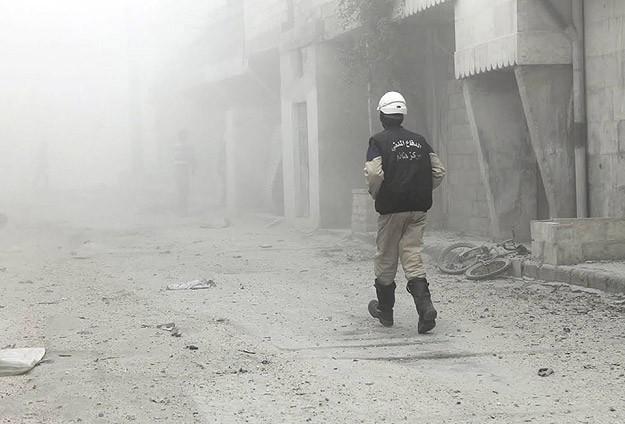 Suriyede klor gazlı bombayla saldırı: 6 ölü