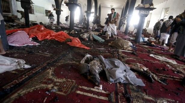 Husi camisine intihar saldırısı: 55 ölü