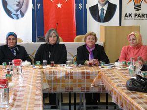 Ak Partili kadınlardan birlik mesajı