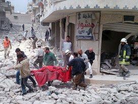 Ruslar Suriyede 403 sivil öldürdü