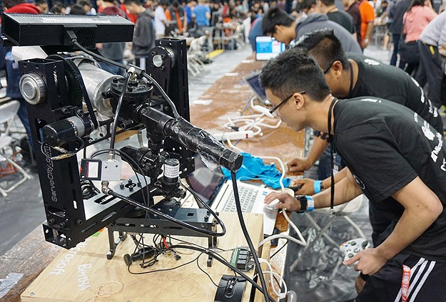 Üniversiteli hackerlar ABD'de yarıştı
