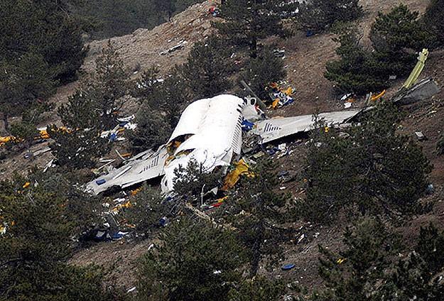 ABDde özel uçak düştü