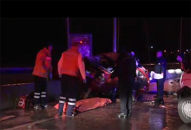 Ankarada trafik kazası: 4 ölü, 1 yaralı