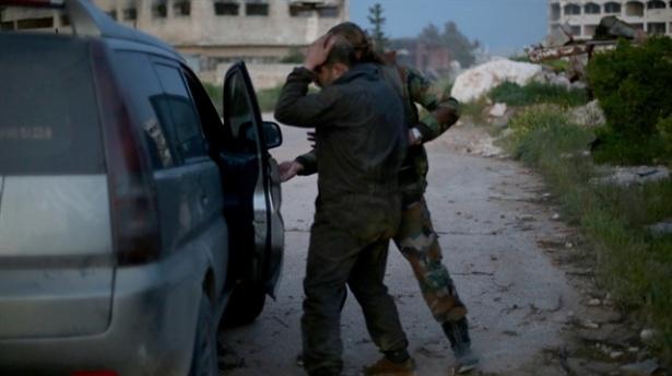 AA kameramanı Suriyede yaralandı