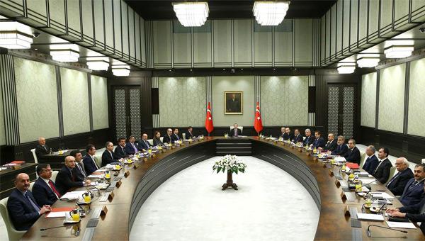Cumhurbaşkanı Bakanlar Kurulunu topluyor